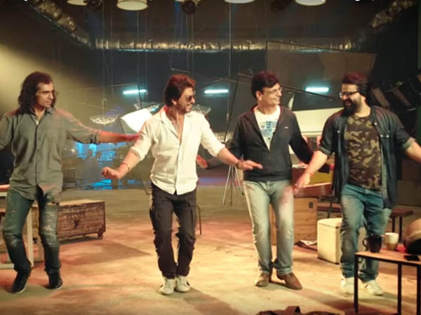 imtiaz ali shah rukh khan irshad kamil and pritam dance to the tune of safar