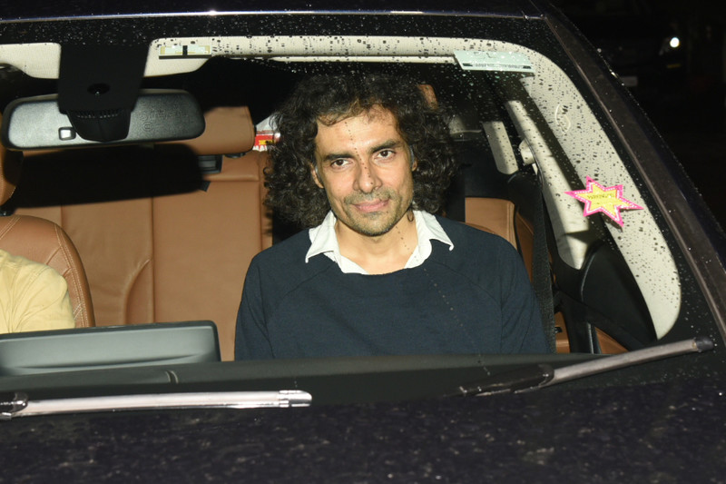 imtiaz ali snapped at sanju screening