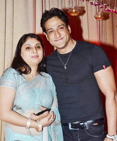 inder kumar with current wife pallavi sarraf