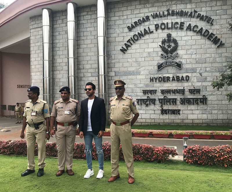 Rajkumar Rao Visits Nation Police Academy