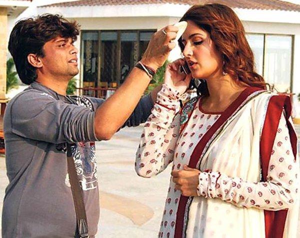 Katrina Kaif With Subhash Singh