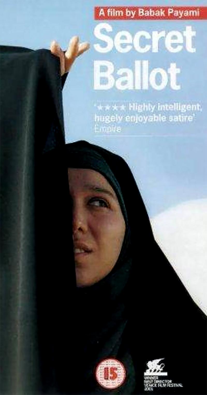 iranian film secret ballot poster