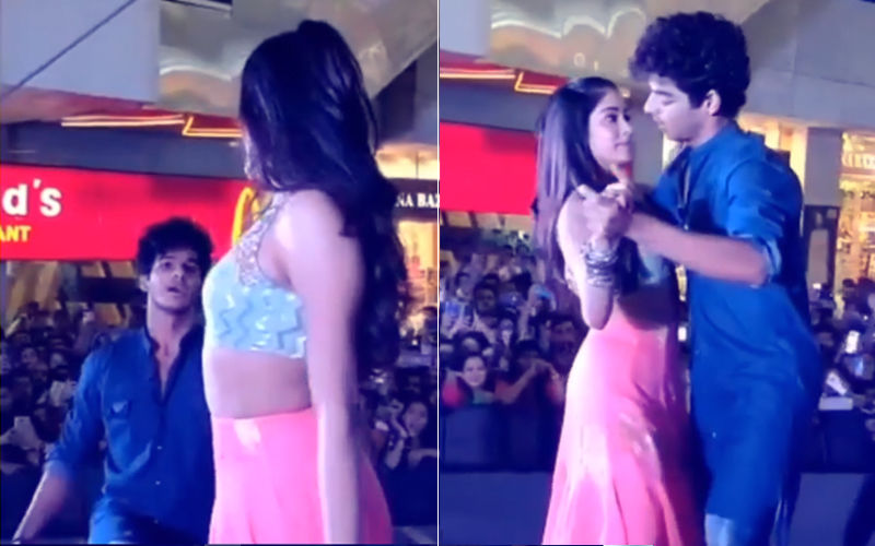 Video: Ishaan Khatter Goes Down On His Knees For Janhvi Kapoor!