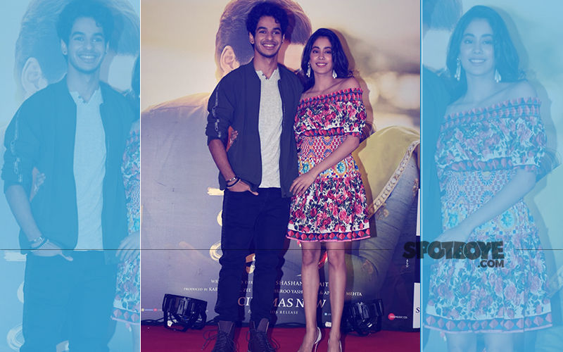 Tastes Like Success: Janhvi Kapoor & Ishaan Khatter Can't Stop Beaming At The Dhadak Success Meet