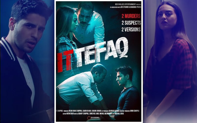 Movie Review: Ittefaq, Murder They Wrote A Bit Slow But Yet Raise A Toast To Sidharth, Sonakshi & Akshaye