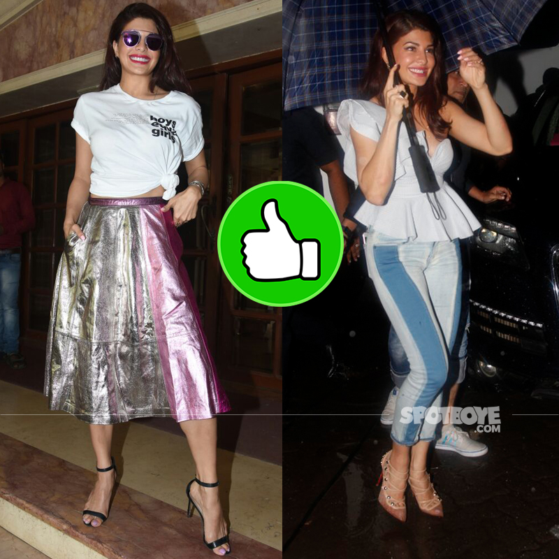 jacqueline fernandez at judwaa 2 promotions