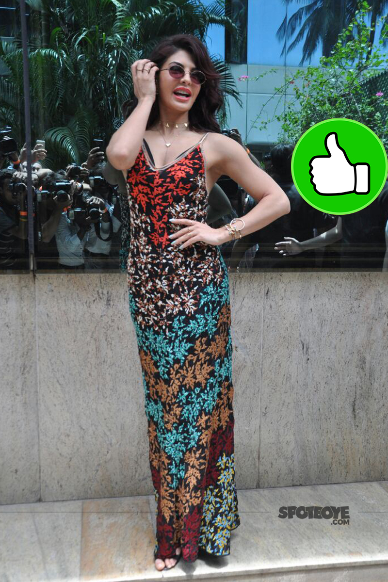 jacqueline fernandez at the song launch of a gentleman
