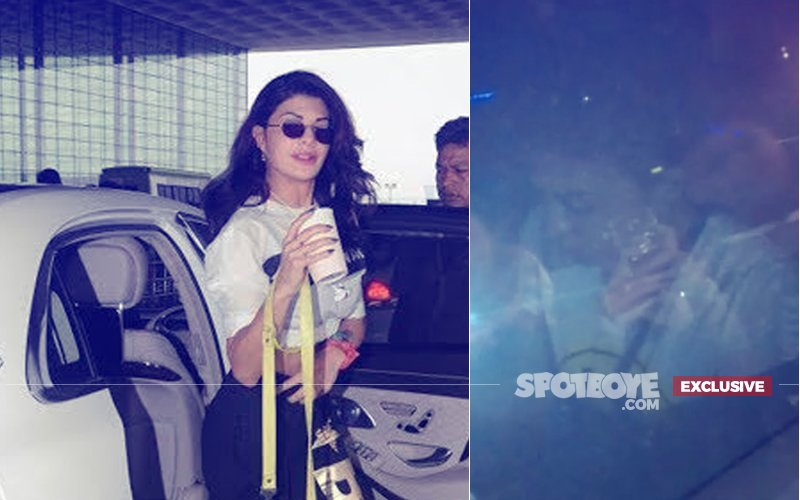 Exclusive: Jacqueline Fernandez Meets With A Car Accident In Bandra