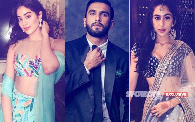 Janhvi Kapoor & Sara Ali Khan Going Head To Head To Star Opposite Ranveer Singh