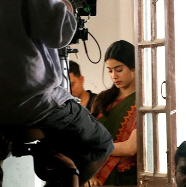 janhvi kapoor resumes shooting for dhadak