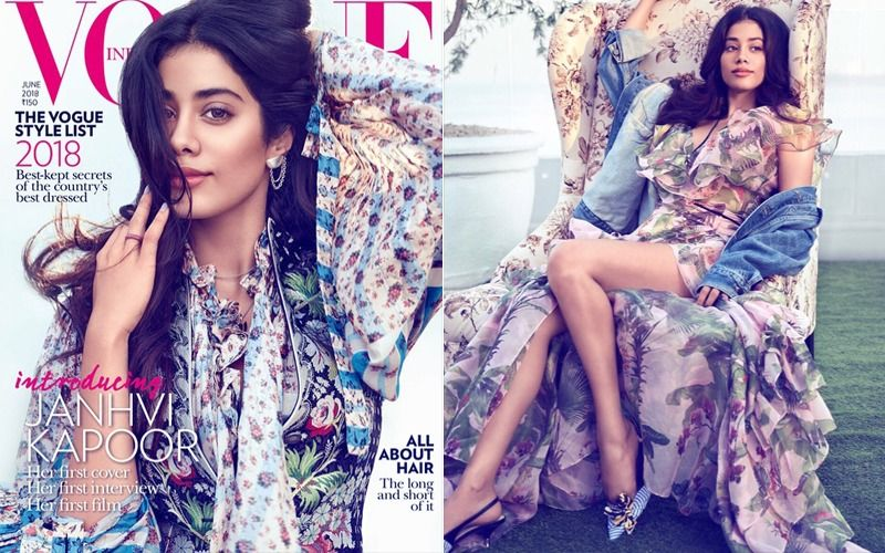 Here It Is... Sridevi's Darling Daughter, Janhvi's First Magazine Cover