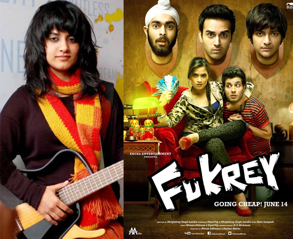 jasleen royal in fukrey 2