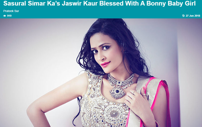 jaswir kaur blessed with a baby girl