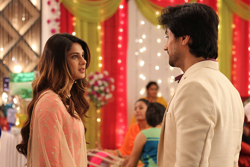 jennifer winget and harshad chopra in bepannah