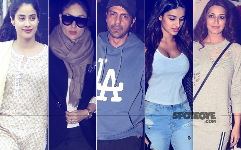 STUNNER OR BUMMER: Janhvi Kapoor, Kareena Kapoor, Arjun Rampal, Nidhhi Agerwal Or Sonali Bendre?