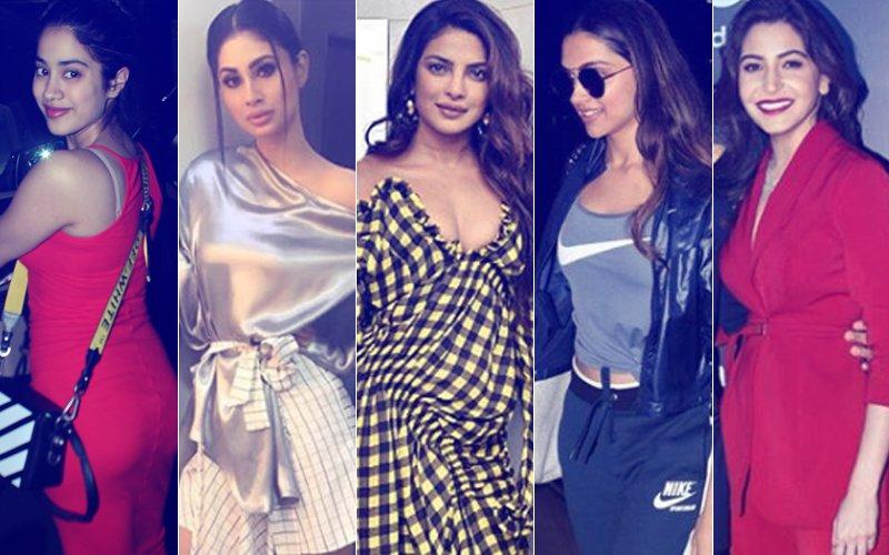 BEST DRESSED & WORST DRESSED Of The Week: Jhanvi Kapoor, Mouni Roy, Priyanka Chopra, Deepika Padukone Or Anushka Sharma?