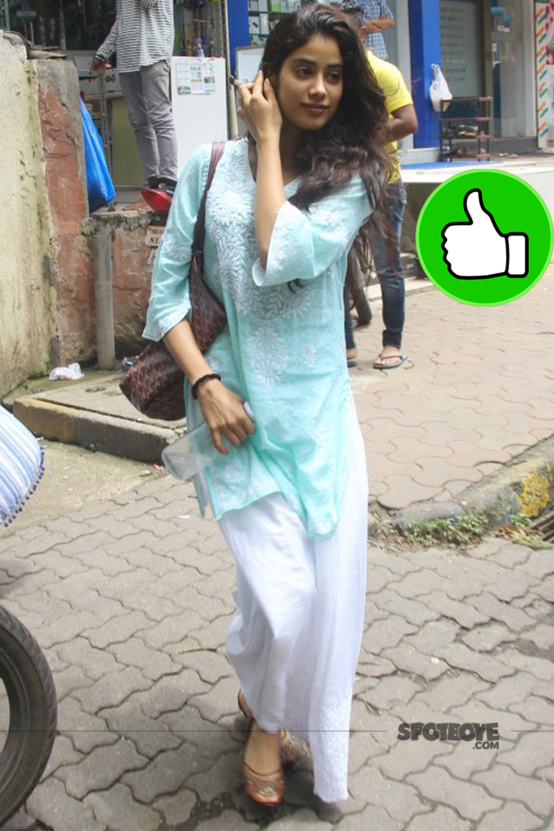 jhanvi kapoor snapped post dance reharsal