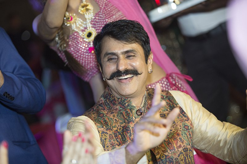 jiten lalwani enjoys at abhishek bajaj sangeet ceremony