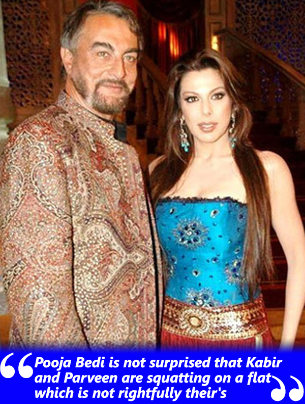 kabir bedi and daughter pooja bedi