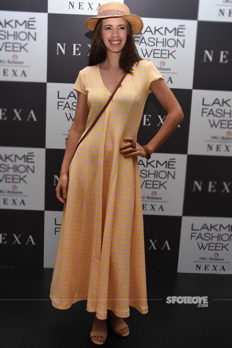 kalki koechlin at lakme fashion week 2017