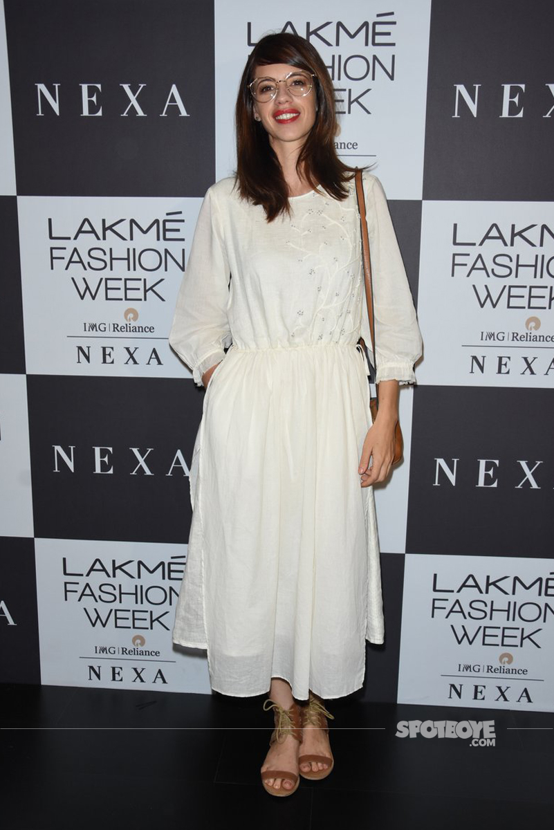 kalki koechlin at the lakme fashion show