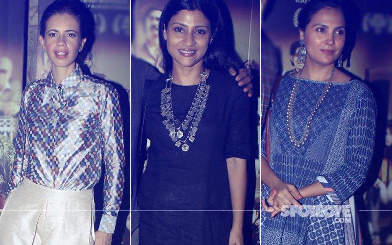Kalki Koechlin, Konkona Sen Sharma, Lara Dutta & Co. Attend A Death In The Gunj Screening