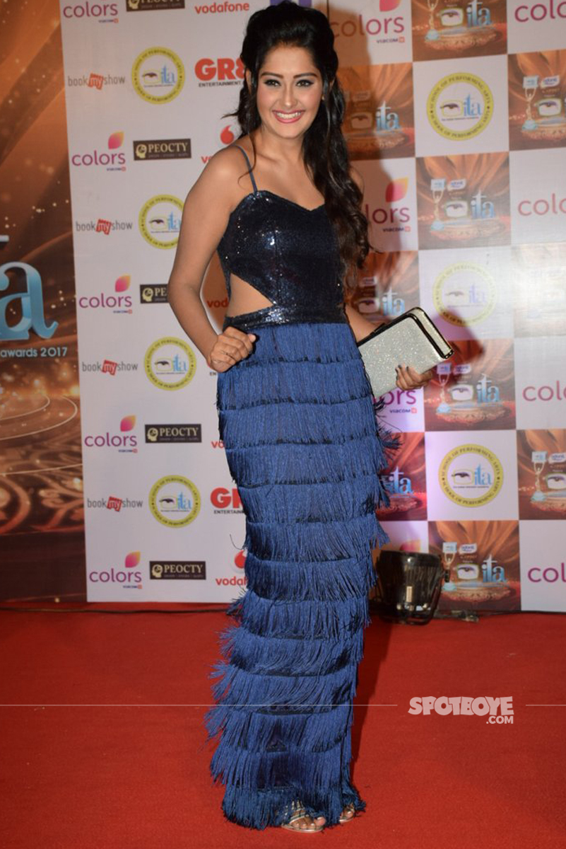 kanchi singh at the ita awards