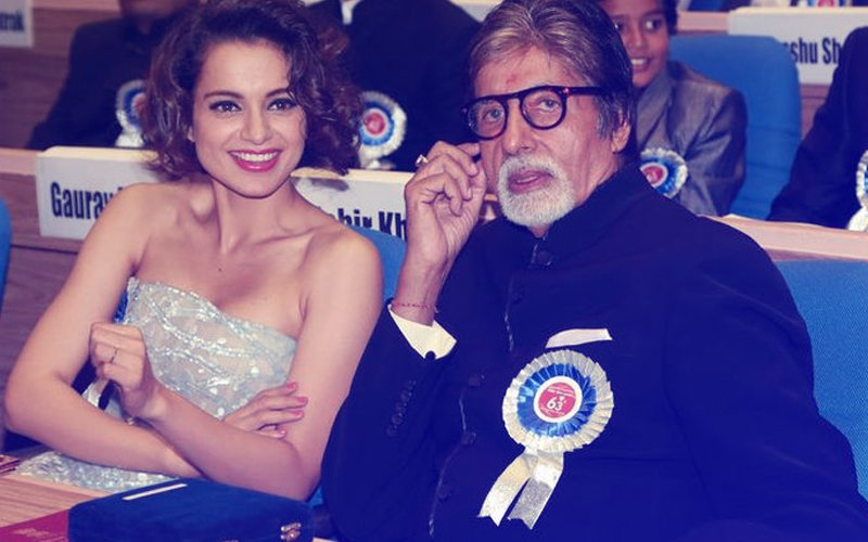 Kangana Ranaut To Play A Differently-Abled Person In R Balki's Next Co-Starring Amitabh Bachchan?