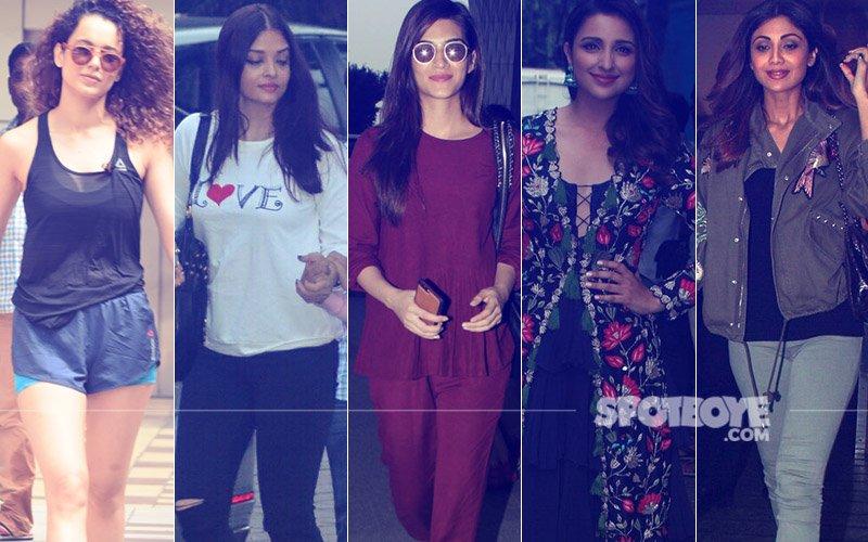 STUNNER OR BUMMER: Kangana Ranaut, Aishwarya Rai Bachchan, Kriti Sanon, Parineeti Chopra Or Shilpa Shetty?