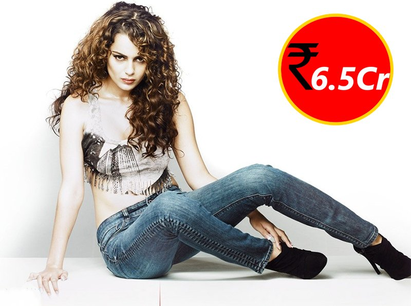kangana ranaut charges 6 5cr for doing movies
