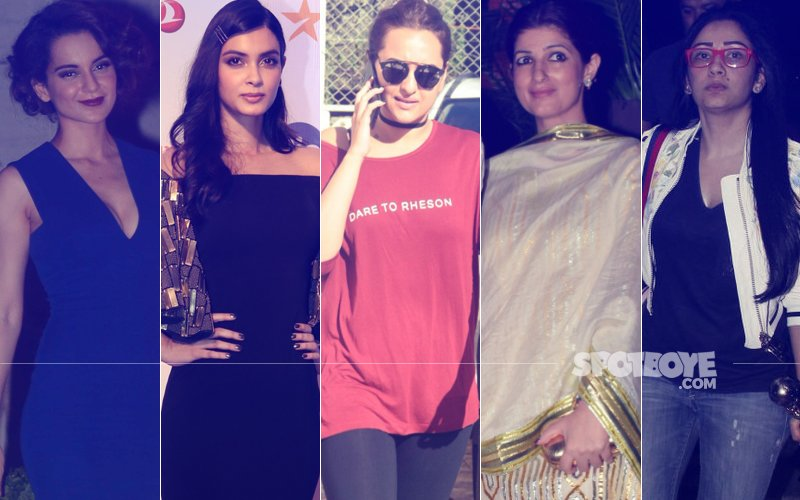 STUNNER OR BUMMER: Kangana Ranaut, Diana Penty, Sonakshi Sinha, Twinkle Khanna Or Maanayata Dutt?