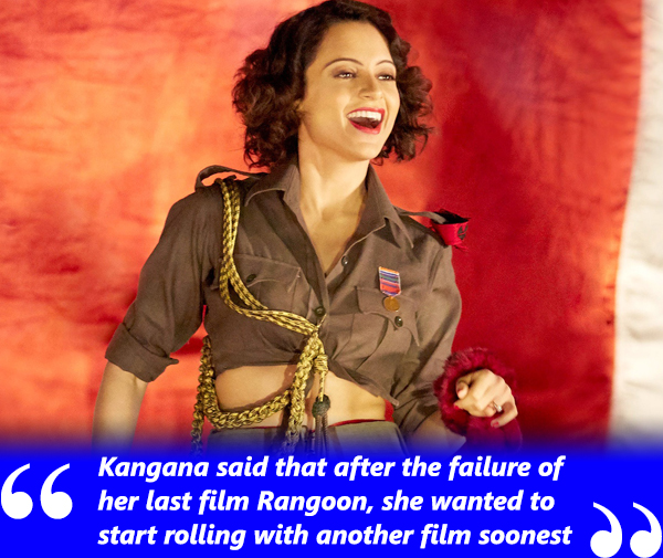 kangana ranaut in rangoon bloody hell song