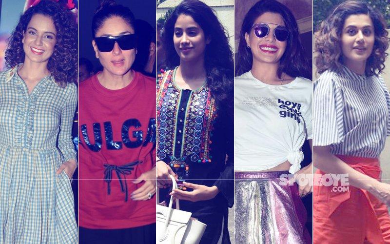 STUNNER OR BUMMER: Kangana Ranaut, Kareena Kapoor, Jhanvi Kapoor, Jacqueline Fernandez Or Taapsee Pannu?