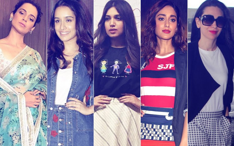STUNNER OR BUMMER: Kangana Ranaut, Shraddha Kapoor, Bhumi Pednekar, Ileana D'Cruz Or Karisma Kapoor?