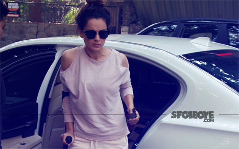 Kangana Ranaut Beats Monday Blues, Looks Ravishing Post Her Salon Appointment