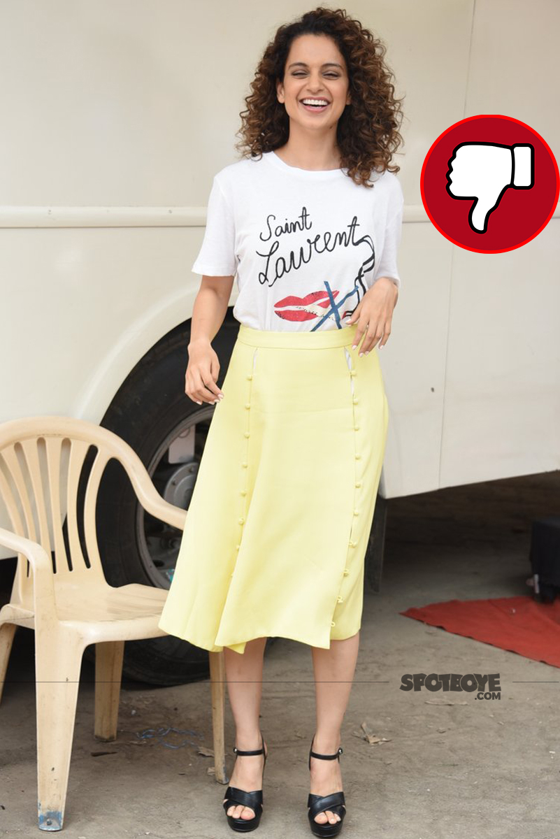 kangana rannaut at simran promotions