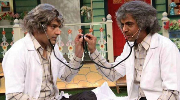 kapil sharam and sunil grover on the kapil sharma show