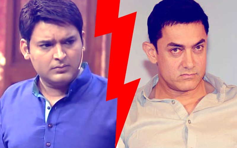 THE BIG FIGHT: Kapil Sharma Vs Aamir Khan. Guess Who Won?