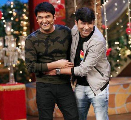 kapil sharma having a laugh with kapil sharma