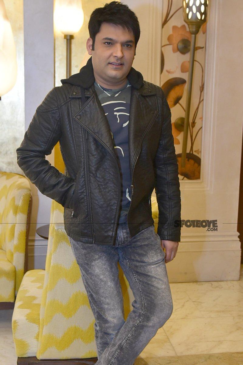 kapil sharma looks dapper in a jacket