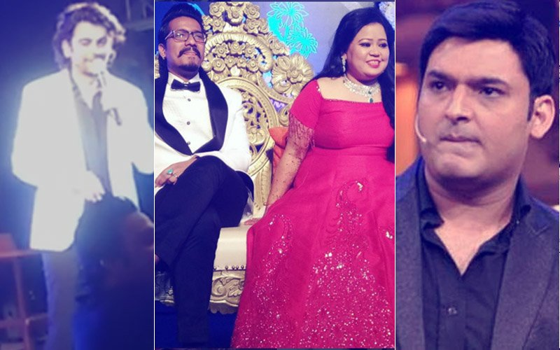 Sunil Grover Makes It To Bharti Singh's Wedding, FACE-OFF With Kapil Sharma AVERTED!