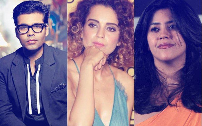 After Karan Johar, Has Ekta Kapoor Taken A Sly Dig At Kangana Ranaut?