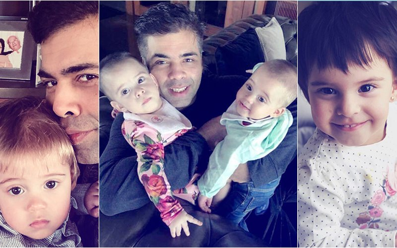 7 Cutesy Pictures Of Karan Johar's Twins, Yash & Roohi, That Are Winning The Internet