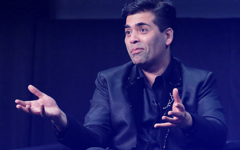 Oops! Karan Johar Reveals He Was Caught Defecating In Public & Here's What Followed...