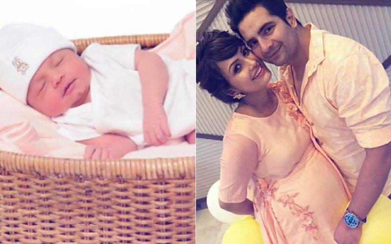 Karan Mehra & Nisha Rawal Share The First Picture Of Baby Boy Kavish