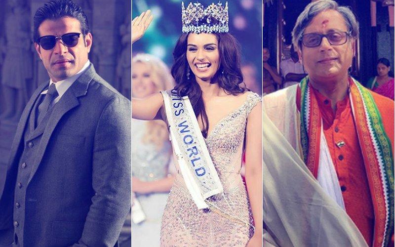 Karan Patel BLASTS Shashi Tharoor For MOCKING Miss World 2017 Manushi Chhillar