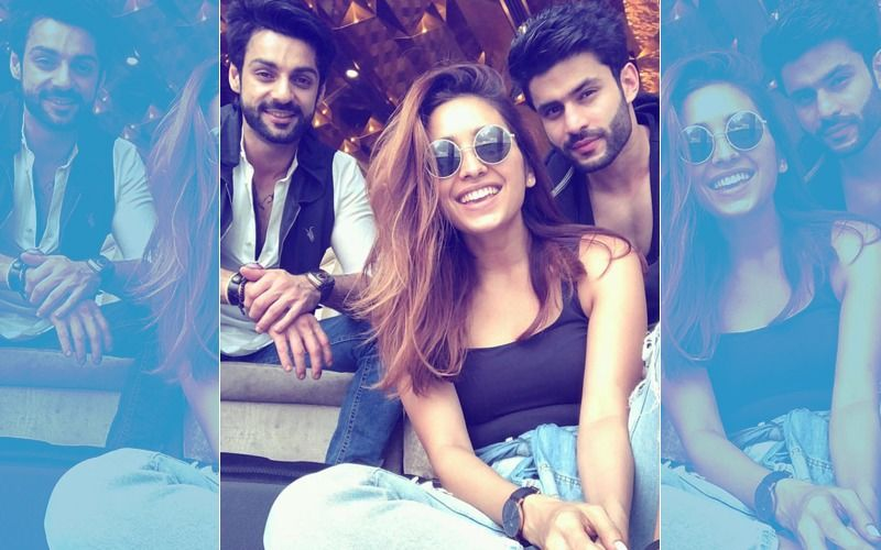 Pics: Karan Wahi's Pre-Birthday Celebration With BFFs Asha Negi & Rahull Sharma