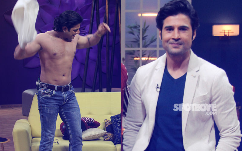 Karan Patel Goes Shirtless On Rajeev Khandelwal's Show