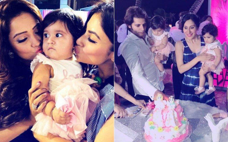 INSIDE PICS: Mouni Roy, Adaa Khan & More At Karanvir Bohra & Teejay Sidhu's Twins' Birthday Bash