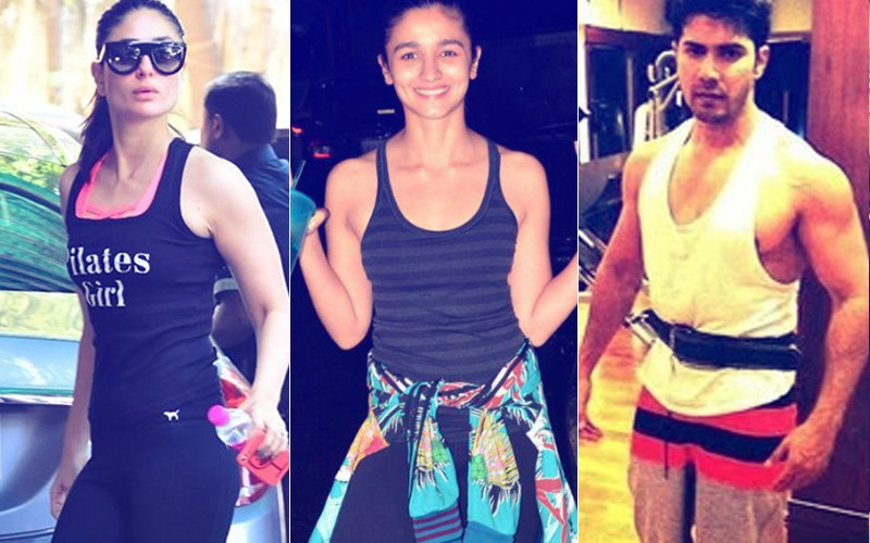 Kareena-Amrita, Alia-Katrina, Sara-Nimrat, Varun-Kartik -- Stars Who Hit The GYM Together
